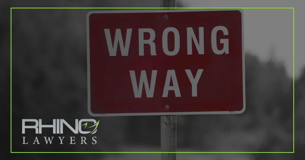 Accidentes por conductores que se equivocan de camino