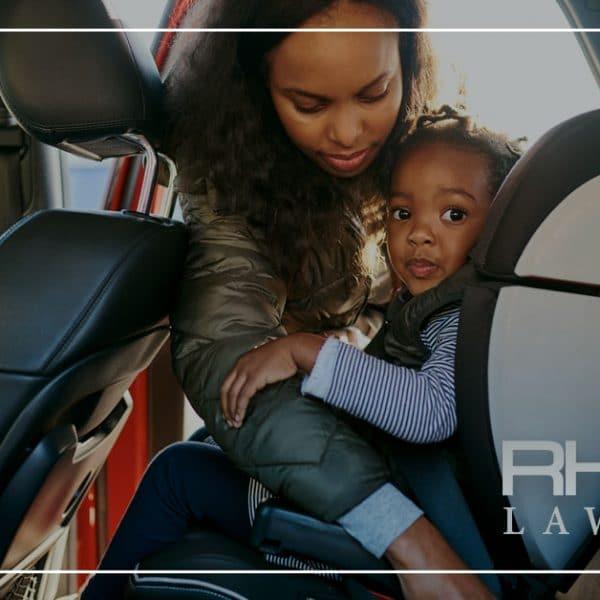 Los niños y los accidentes de tráfico