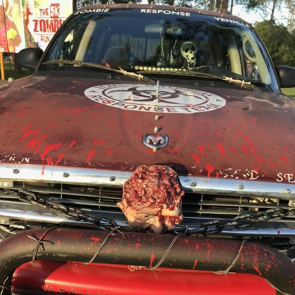 Zombie Run Response Vehicle