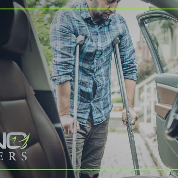 Lesiones comunes en accidentes de tráfico