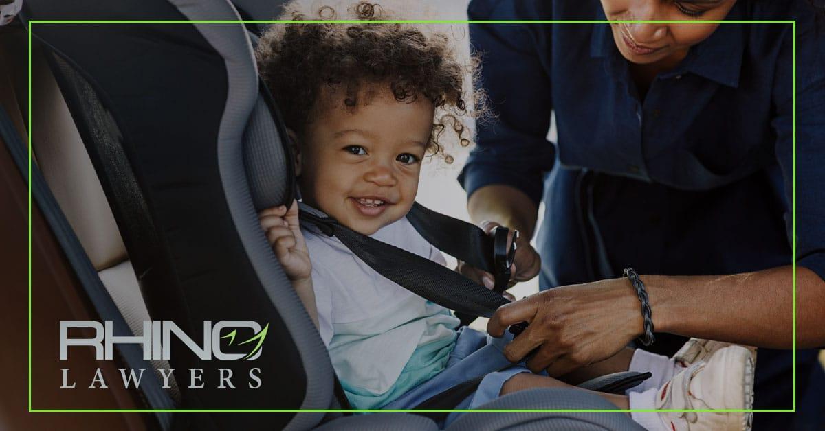 Leyes de asientos de seguridad para niños 2019 en Tampa Florida