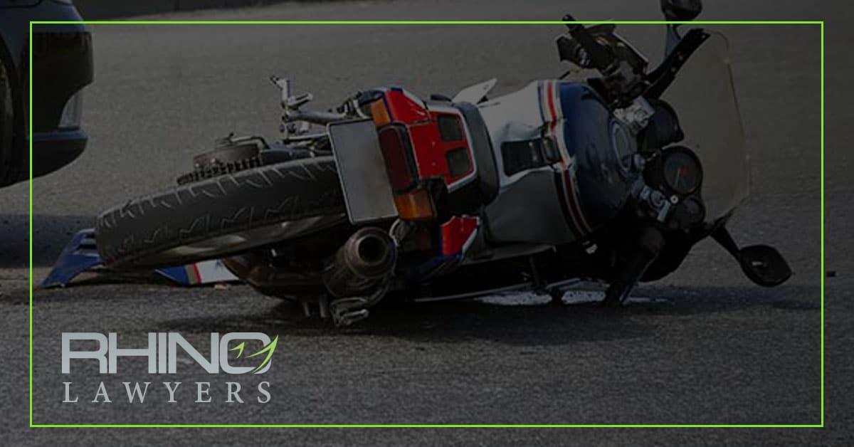 Choque de motos con fuga