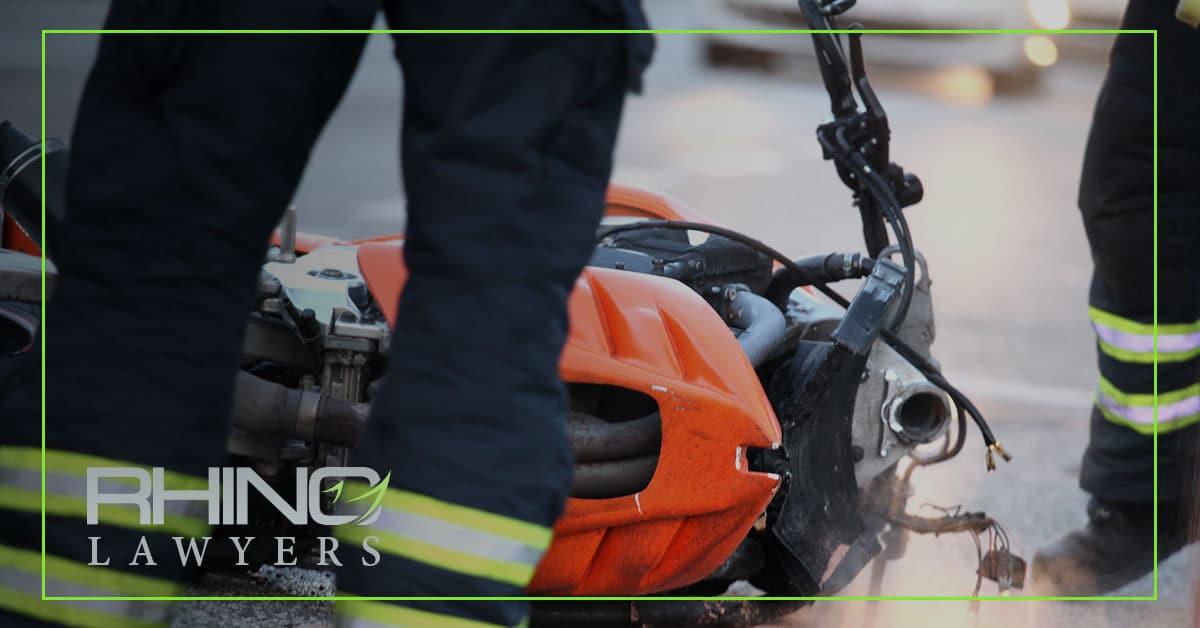Motorcycle Rider Severely Injured