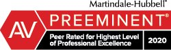 Martindale-Hubbell AV Preeminent rating