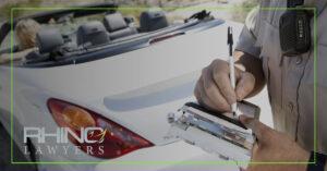 Los tipos comunes de multas de tráfico en Florida